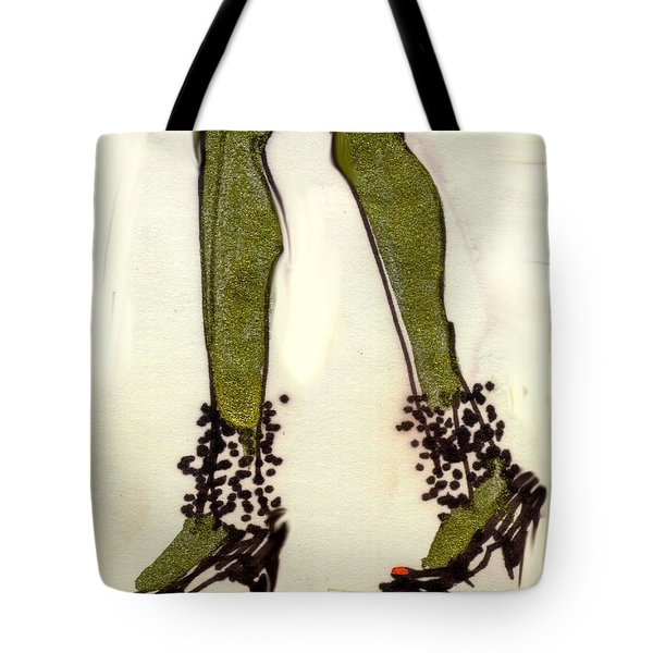 Stepping Out With My Baby Tote Bag