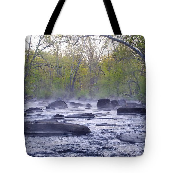 Stepping Stones Tote Bag by Bill Cannon