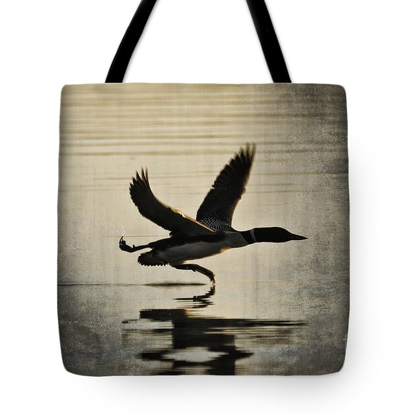 Stepping Up Tote Bag