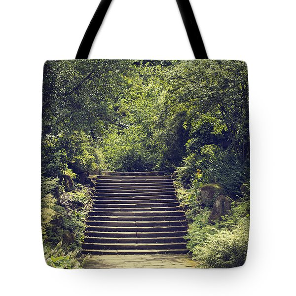 Steps Tote Bag by Amanda Elwell