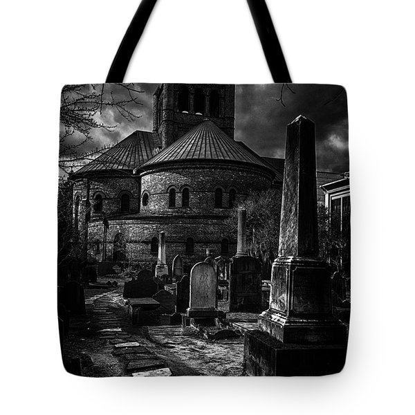 Steps Into The Past Tote Bag by Lynn Palmer