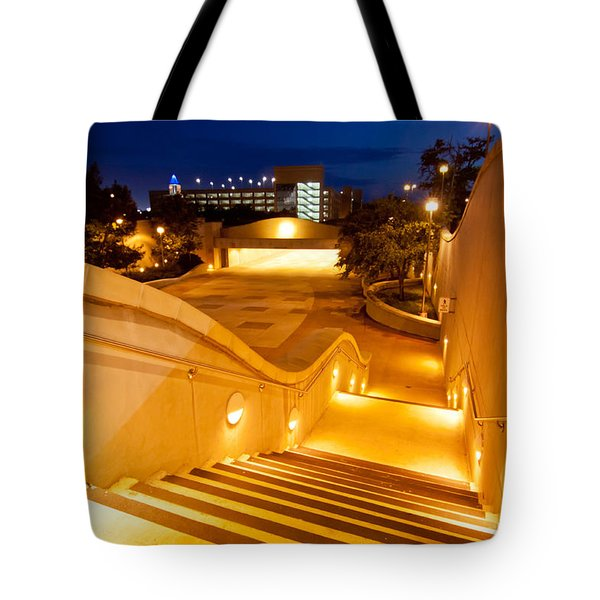 Steps To Kyle Field Tote Bag by Linda Unger
