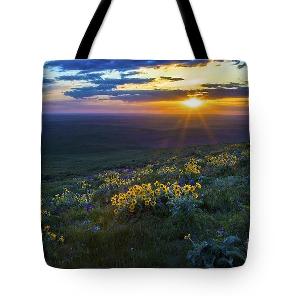Steptoe Sunset Tote Bag by Sonya Lang