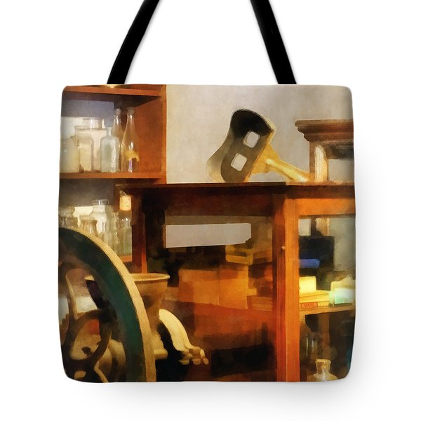 Stereopticon For Sale Tote Bag by Susan Savad