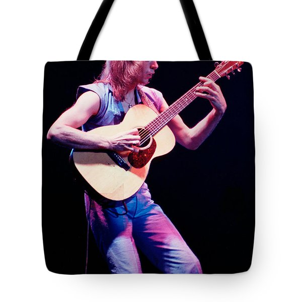 Steve Howe Of Yes Performing The Clap Tote Bag