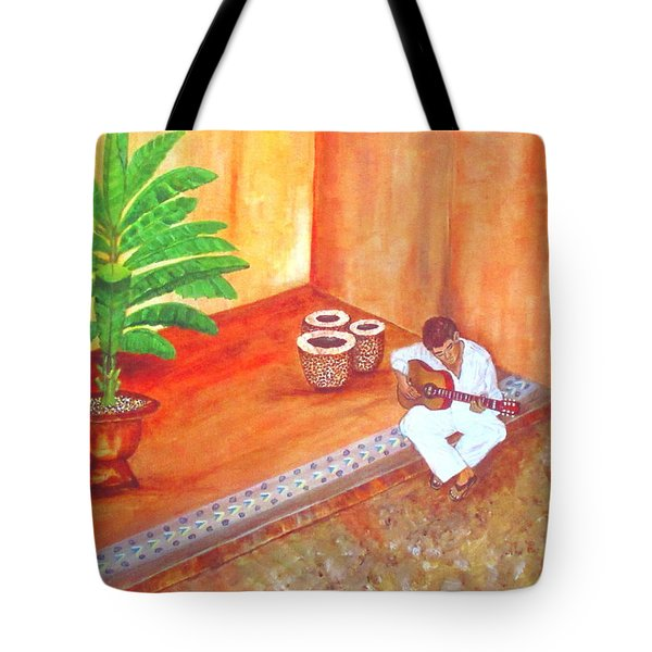Steve While On Safari In South Africa Tote Bag