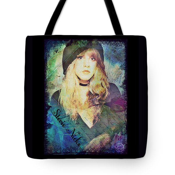 Stevie Nicks - Beret Tote Bag