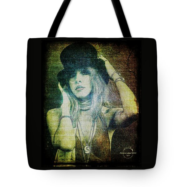 Stevie Nicks - Bohemian Tote Bag