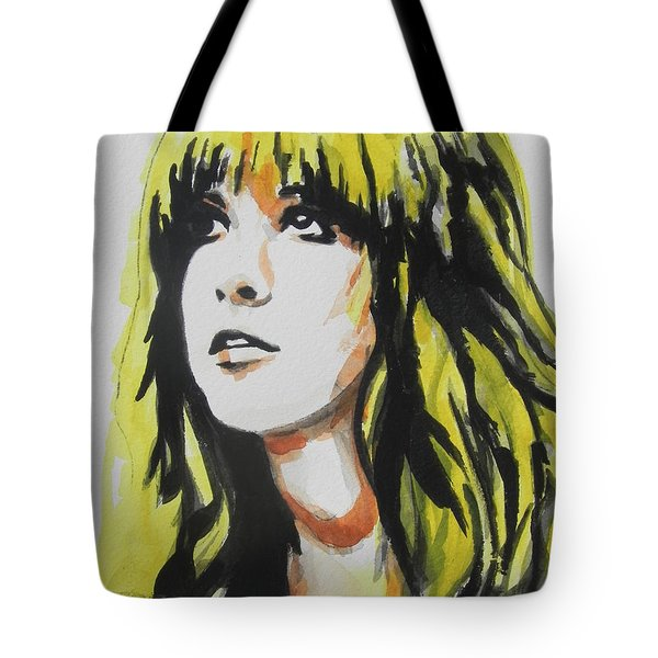 Stevie Nicks 01 Tote Bag by Chrisann Ellis