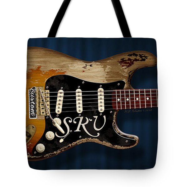Stevie Ray Vaughan Stratocaster Tote Bag