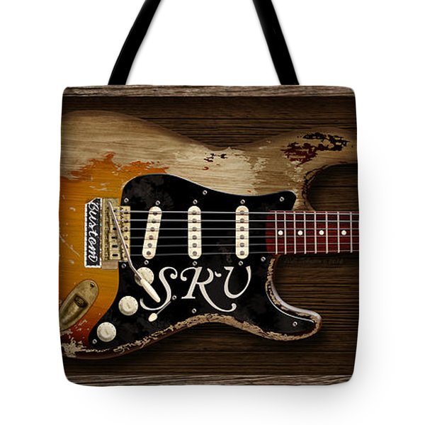 Stevie's Strat Tote Bag