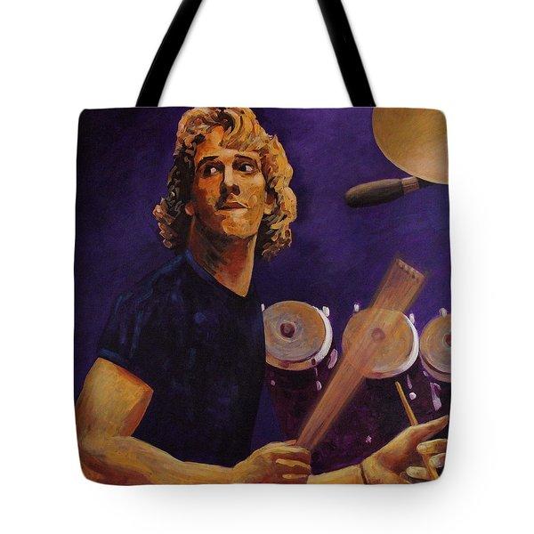 Stewart Copeland - The Police Tote Bag by John  Nolan