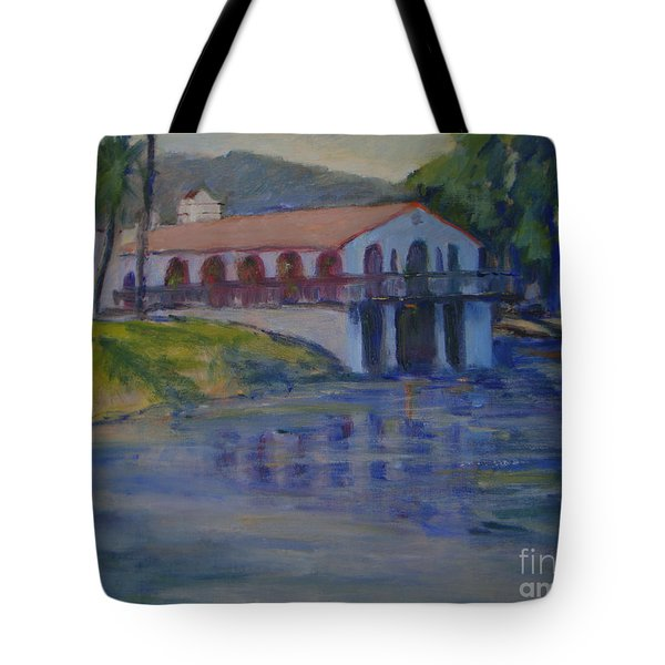 Stewarts Boat House No. 2 Tote Bag