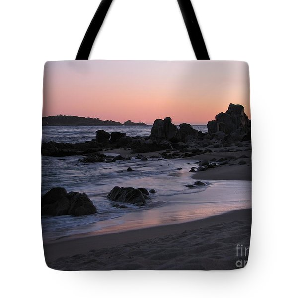 Stewart's Cove At Sunset Tote Bag