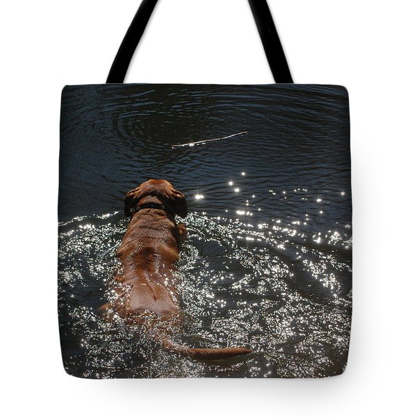 Tote Bag featuring the photograph Stick by Mim White