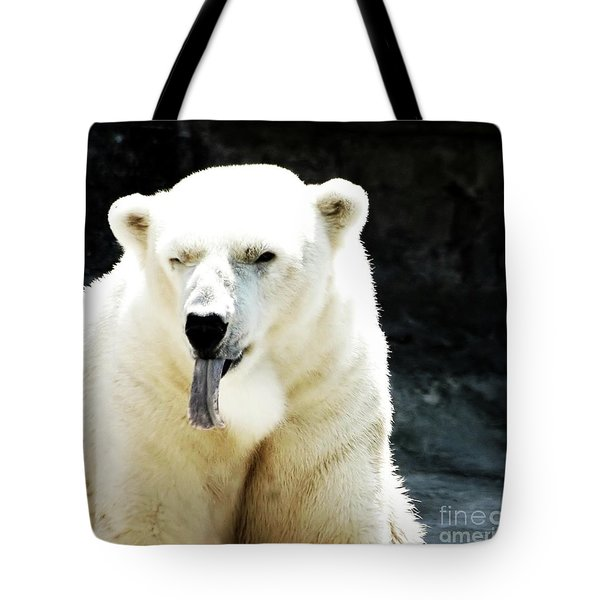 Stick Out Your Tongue Tote Bag by Kathleen Struckle