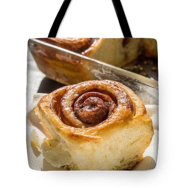 Sticky Cinnamon Buns Tote Bag