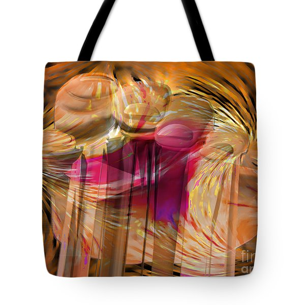 Sticky Hand Tote Bag