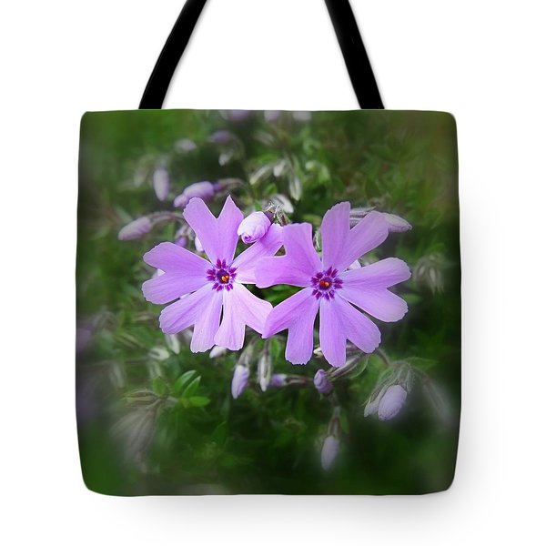 Sticky Phlox Tote Bag