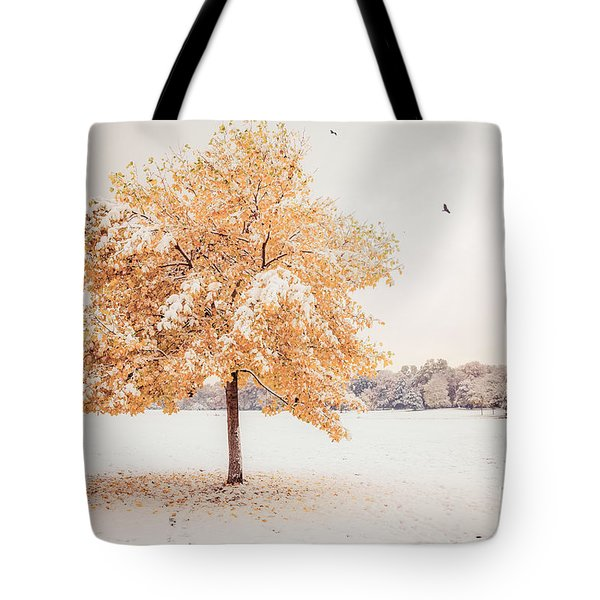 Still Dressed In Fall Tote Bag