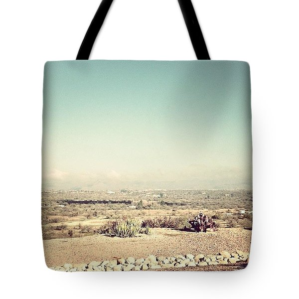 Still Foggy Tote Bag