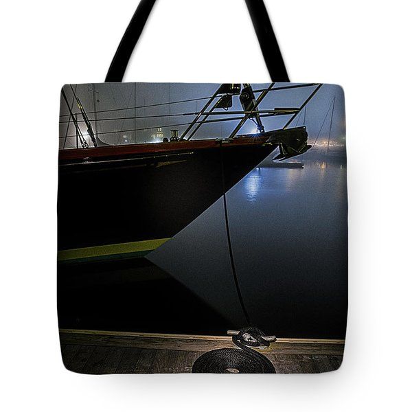 Tote Bag featuring the photograph Still In The Fog by Marty Saccone