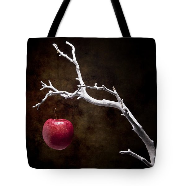 Still Life Apple Tree Tote Bag by Tom Mc Nemar