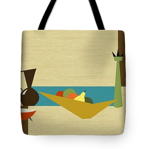Tote Bag featuring the digital art Still Life by Donna Mibus