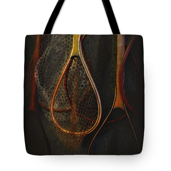 Still Life - Fishing Nets Tote Bag by Jeff Burgess