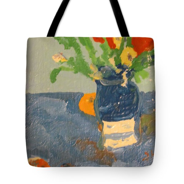 Still Life Flowers Tote Bag