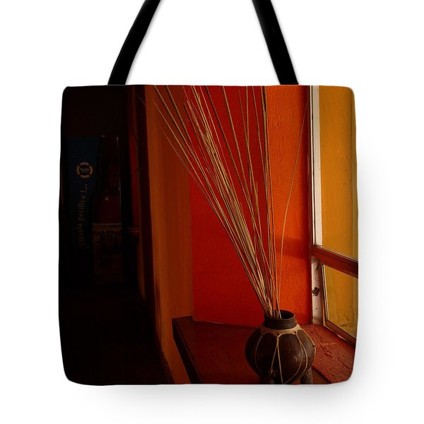 Tote Bag featuring the photograph Still Life In Baja by Alan Socolik