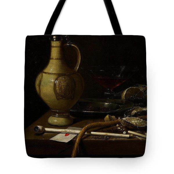 Still Life Tote Bag by Jan Jansz van de Velde
