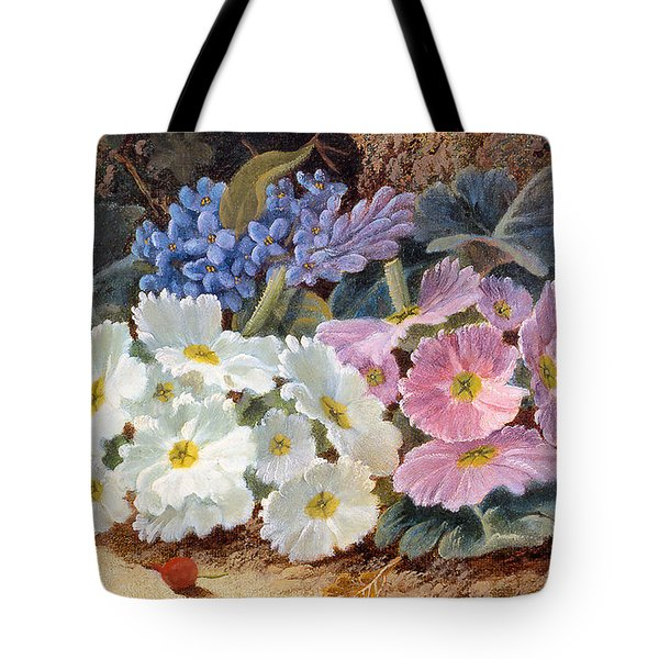 Still Life Of Flowers Tote Bag by Oliver Clare