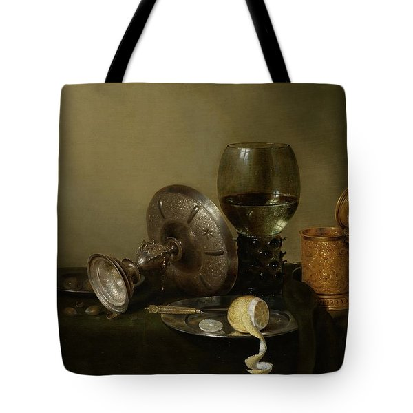 Still Life With A Gilt Cup Tote Bag