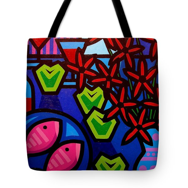 Still Life With Apples Tote Bag by John  Nolan