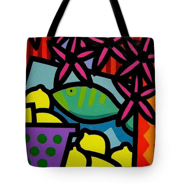 Still Life With Fish Tote Bag by John  Nolan