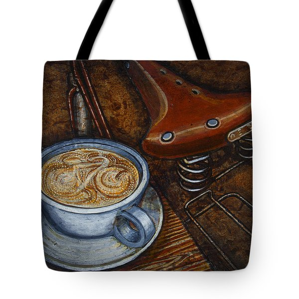 Still Life With Ladies Bike Tote Bag