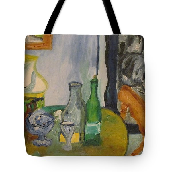 Still Life  With Lamps Tote Bag