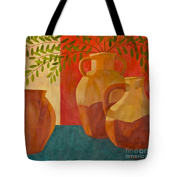 Still Life With Olive Branches I Tote Bag