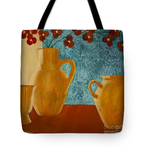 Still Life With Orchids I Tote Bag