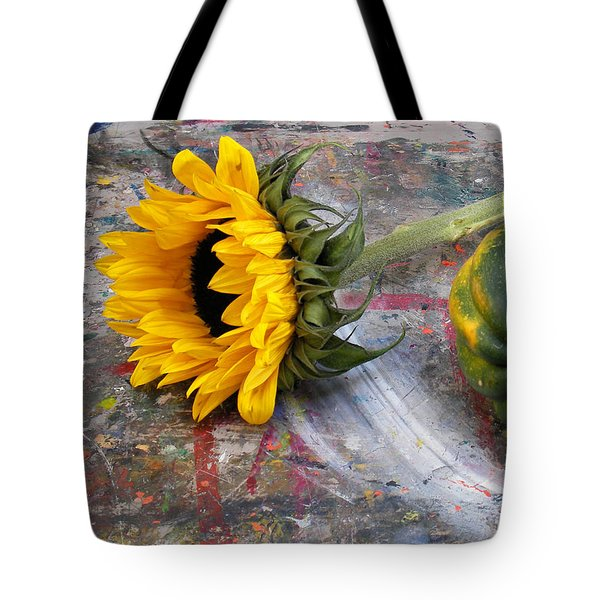 Still Life With Sunflower Tote Bag