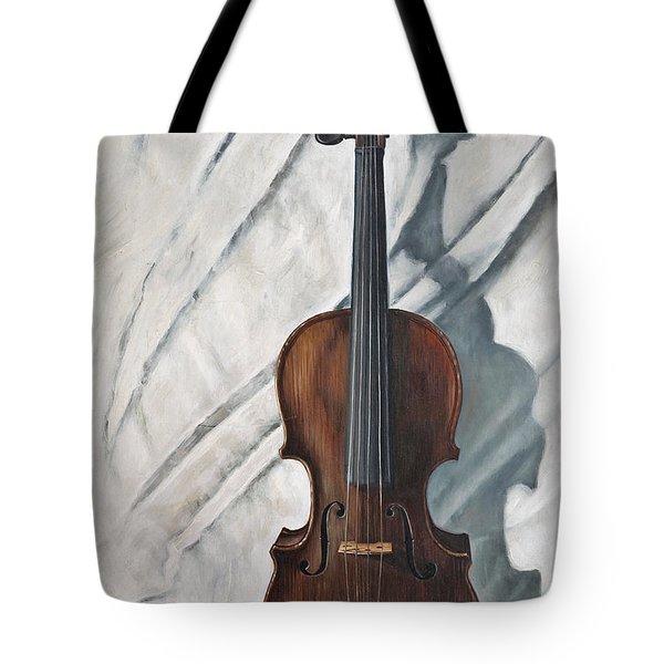 Still Life With Violin Tote Bag