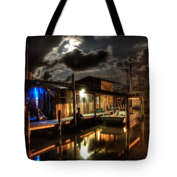 Still Marina Tote Bag by Michael Thomas