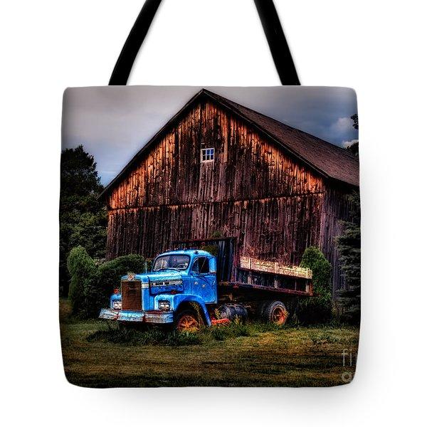 Still Truckin Tote Bag by Susan Candelario