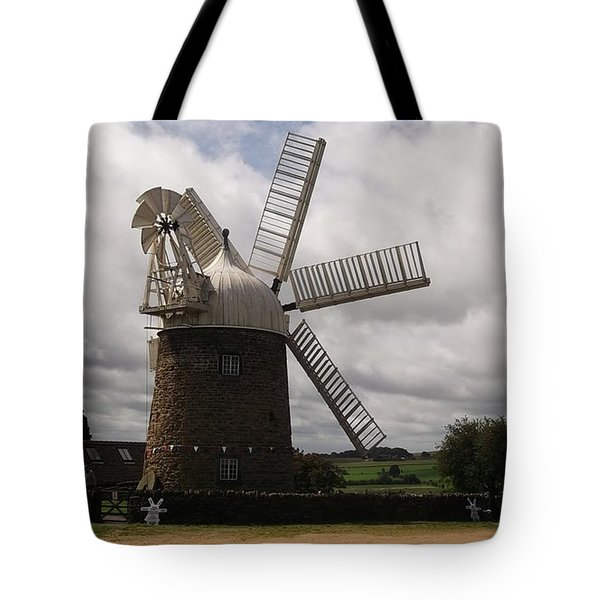 Still Turning In The Wind Tote Bag by Tracey Williams