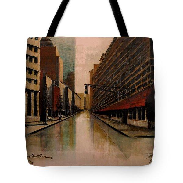 Still Under Construction Fourteen Tote Bag by Diane Strain