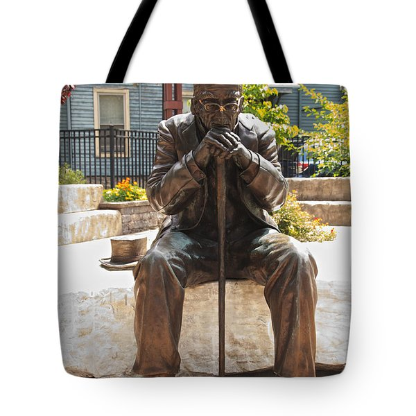 Still Waiting Tote Bag by William Norton