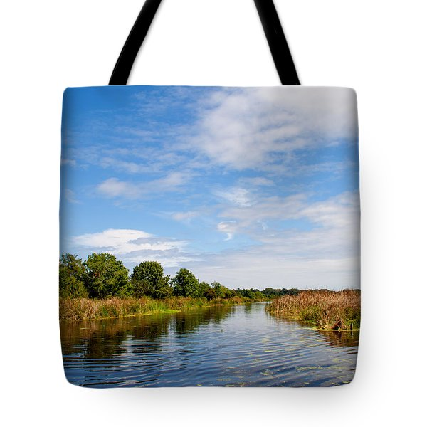 Tote Bag featuring the photograph Still Water by Jean Haynes