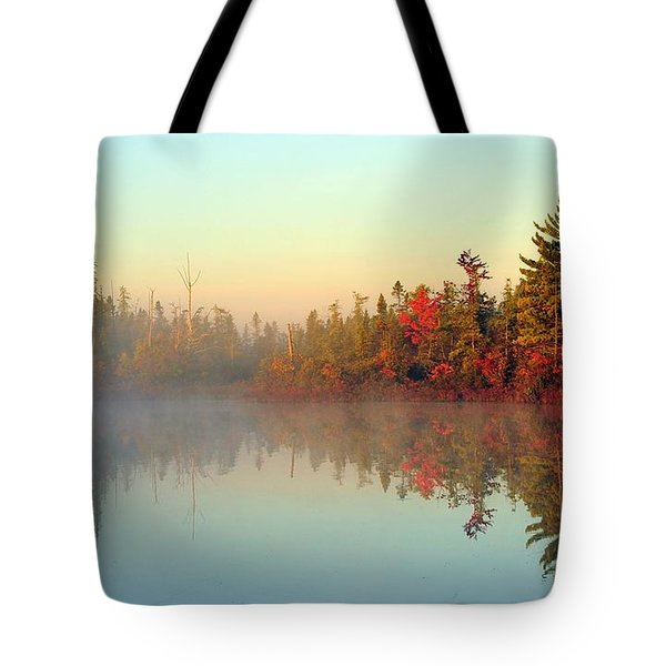 Still Water Marsh Tote Bag by Terri Gostola