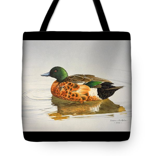 Still Waters - Chestnut Teal Tote Bag